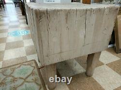 Table Antique De Bloc De Boucher