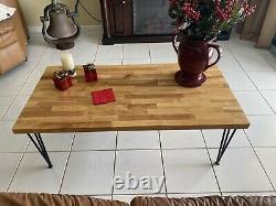 Table De Café Du Bloc De Boucher