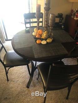 Table De Cuisine Ronde Et 4 Chaises