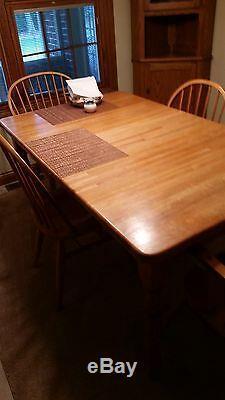 Table De Salle À Manger En Chêne Massif