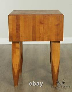 Table Vintage De Boucherie D'érable De Haute Qualité De 24 Pouces