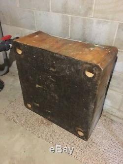 Tableau Bloc De Boucher En Bois Vintage (antique) En Bon État