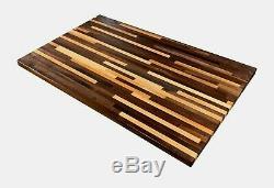 Toujours Sel Commun Et Poivre Butcher Block Table (1,5 X 30 X Tailles Sur Mesure)