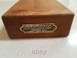 Vintage Wood G. Rushbrook (smithfield) LLC Butcher Block Victorian Antique