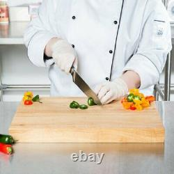 Wood Commercial Restaurant Solid Cutting Board Butcher Block Nouvelles Tailles Multiples