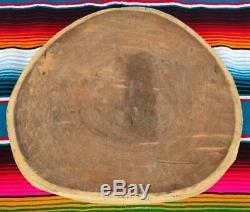 Xlg Mexicaine Cuisine Ronde En Bois Mesquite Butchers Block Board Cutting Broyage