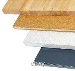 Zoro Select 4tw44 Workbench Top, Butcher Block, 60x30 In